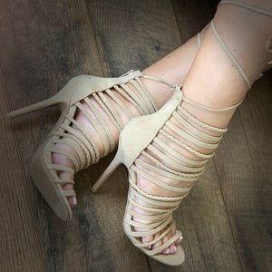 Wild Diva Tie up heels